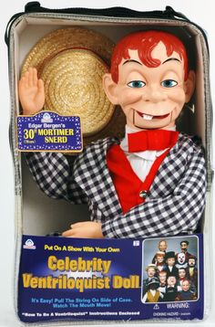 Celebrity Ventriloquist Doll Slappy Dummy, Ventriloquist ...