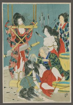 The king of Kinbaku: The erotic works of Japanese bondage artist Seiu Ito | Dangerous Minds