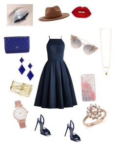 """""""Modern Princess"""" by thee-fashionista ❤ liked on Polyvore featuring BCBGMAXAZRIA, Chanel, Marie Hélène de Taillac, Forever 21, Chi Chi, Bloomingdale's, Larsson & Jennings and modern"""