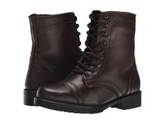 Steve Madden Kids Jtroopa 2 (Little Kid/Big Kid) Brown Leather - Zappos.com Free Shipping BOTH Ways