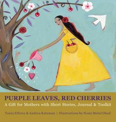 great gift for new moms.. beautiful illustrations--short real stories.... from moms to moms    http://purpleleavesredcherries.com/blog/gift-for-new-moms/