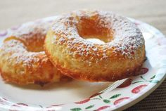 Voskos Baked Donuts Recipe - Greek Yogurt Recipes from Voskos