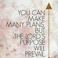 Purpose- Proverbs 19:21 Canvas Print by Amen | Society6