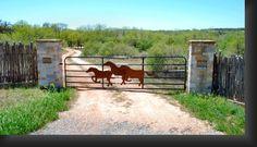 Horse gate - Linda Chubb