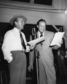 It doesn't get much better than Bing Crosby and Bob Hope!