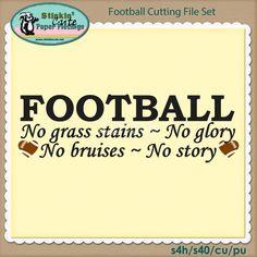Football Cutting File Set