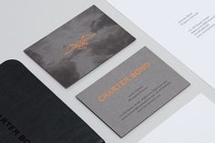 Charter Bond on Behance