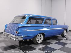 Side`Rear-Angle of '58 Chevy Nomad