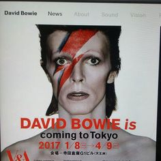 CULTURE. MUSIC. HISTORY&CLASSIC.. RIP DAVID BOWIE...NEWS&INFO MyBLOG HXSTYLE.net....David Bowie is (2013) Touring EXHIBITION Now in TOKYO...1. Year 10.1.2017 David BOWIE Died, cancer 69 y old whit family. MUSIC, Memories, Movies, booksand so on  live forever. ❤RECOMMENDED. @davidbowie #culture #music #history #rip #classic  #exhibition  #movie #musicvideos #videos #books #live #forever ❤⌚
