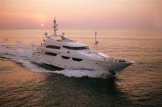 Feretti Yachts 150 feet.