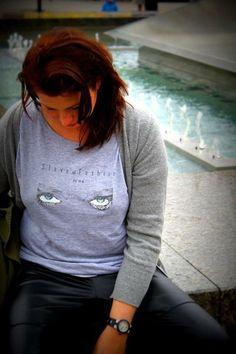 WOLF EYES GREY w Slave Of Fashion na DaWanda.com