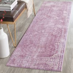 Valencia Collection VAL205A Color: Fuchsia / Multi - #safavieh #safaviehrugs #safaviehrunners #rugrunners #rugs #hallwayrugs #entrywayrugs #staircaserugs #staircasecarpets #entrywaycarpts #bedroomrugs #livingroomrugs #diningroomrugs #kitchenrugs #hallwaydecor #entrywaydecor #shoprugs #runnercarpets #bluerunnerrug #tauperunnerrug