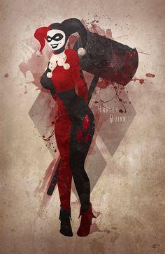 Harlequin, A.R.C.H.I.V.E., pixalry: The Joker and Harley Quinn - Created...