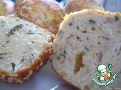 Рецепт: Сырно-куриные крокеты в кунжуте