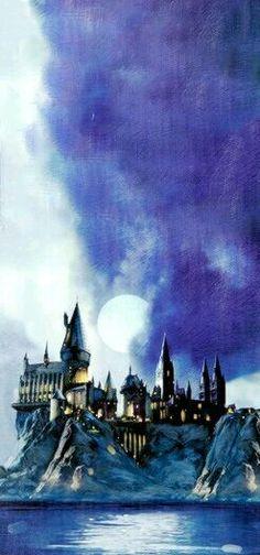 Hogwarts My home away from home. Deco Harry Potter, Mundo Harry Potter, Harry Potter Fandom, Harry Potter World, Harry Potter Anime, Ravenclaw, Hogwarts, Film Manga, Arte Nerd