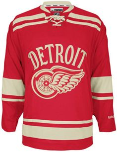 59221a5c5 Detroit Red Wings 2014 NHL Winter Classic Hockey Jersey Detroit Michigan