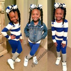 Adorable love the outfit Little Girl Outfits, Cute Outfits For Kids, Little Girl Fashion, Cute Little Girls, Kid Swag, Baby Swag, Beautiful Black Babies, Beautiful Children, Cute Kids Fashion