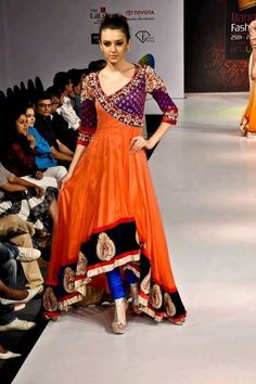 the kimono wrap infused in d indian anarkali perfectly...the best i have seen