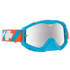 Spy Klutch DNA Happy Lens Blue/Orange/Silver Mirror Goggles