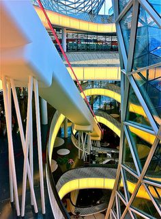 MyZeil shopping mall, Frankfurt, Germany #monogramsvacation