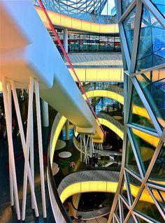 MyZeil shopping mall, Frankfurt, Germany #monogramsvacation