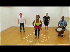 Five(ish) Minute Dance Lesson - African Dance: Lesson 3: Dancing on the Clock - YouTube