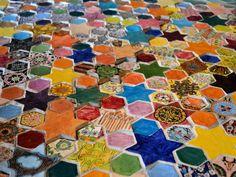 Ceramic Tile Floor - Joyce Kozloff