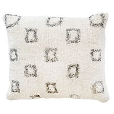 """NEW!  BOWIE HAND WOVEN PILLOW  28"""" x 36"""" with insert"""