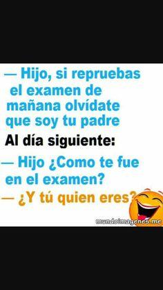 El examen.......
