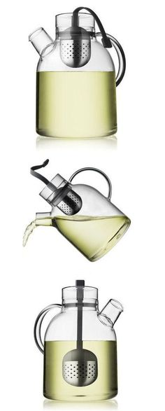 Love this Modern Kettle Teapot ♥