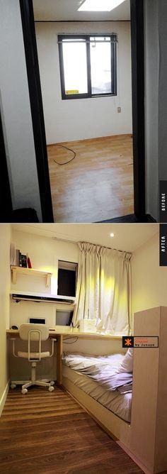 [신혼]신림동 12평 빌라의 변신 - 03(큰방, 침실, 옷방) : 네이버 블로그