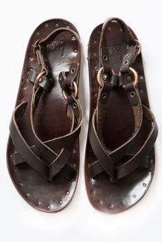 beek brown sparrow sandal – Lost & Found