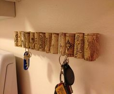 10 Creative DIY Key Holders For Your Home