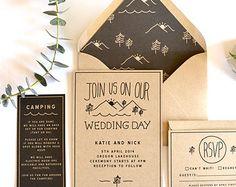 mountain wedding invitations - Google Search