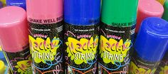 silly string- had lots of fun w/ this in our house when I was little.