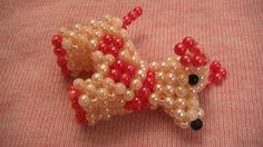 Beads Doggie Key Chain. Made in Vietnam