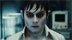 Dark Shadows - make up is incredible, you can hardly recognize Johnny Depp!!