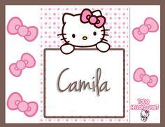 imagenes de hello kitty con nombre para facebook camila