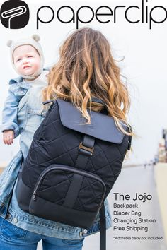 Paperclip bags have an integrated, machine-washable changing station, functionality for work, travel, and parenting, and, here's the best part — they don't look like diaper bags at all.