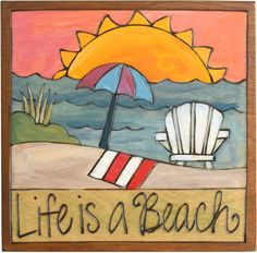 Scatter cheer about your home with Sticks plaques – All handcrafted and made with love in Des Moines, Iowa China Painting, Stone Painting, Painting On Wood, Peace Pole, Sticks Furniture, Funky Art, Barn Quilts, Whimsical Art, Beach Art