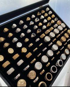 Costume Jewelry Rings, Men's Jewelry Rings, Mens Ring Designs, Cool Rings For Men, Mens Gold Jewelry, Ring Watch, Engraved Jewelry, Luxury Jewelry, Bracelets For Men