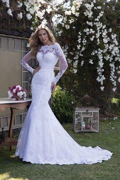 Vestido de noiva Lisianto