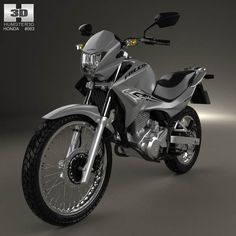 Honda NX 400i Falcon 2014 3d model from humster3d.com. Price: $75