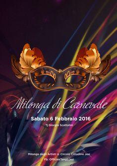"Visual evento ""Milonga di Carnevale"""