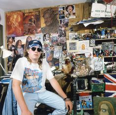 what these iconic photos of 90s teens in their bedrooms can teach us about being young today