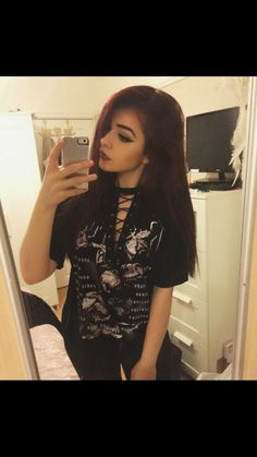 Chrissy Constanza, Silent Quotes, Celebs, Celebrities, Ravens, Dark Hair, Bands, Cute Outfits, Beautiful Women
