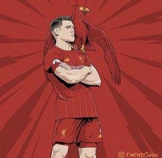 Ynwa Liverpool, Football, Canvas, Illustration, Sports, Anime, Fc Bayern Munich, Soccer, Tela