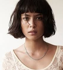 Image result for bob with short fringe                                                                                                                                                      More