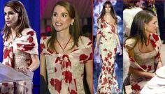 Lebanese Fashion: Queen Rania Of Jordan in Vintage Elie Saab