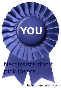 "The narcissist ranks people by his or her ""value"" system"